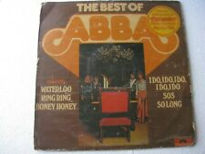 The Best of Abba World LP Record India-1812