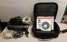 New listing Optoma Ep721 Dlp Portable Projector Hd 1080i Tested With Case
