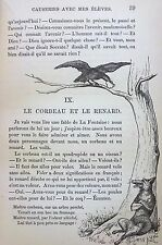 1875 Causeries Avec Mes Eleves (Talks With My Students) French Grammar Illust.