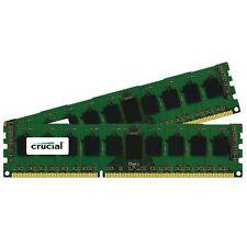 Crucial 16gb Ddr3 Sdram Memory Module - 16 Gb [2 X 8 Gb] - (ct2k102464bd186d)