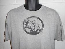 """Vintage Iron Maiden Eddie """"Man Made"""" T-Shirt Large"""