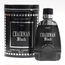 Yves de Sistelle Paris CHAIRMAN BLACK Eau de Toilette Spray 100 ml EdT Brand NEW