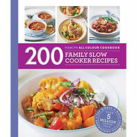 200 Family Slow Cooker Recipes Book Hamlyn All Colour Cookbook Sara Lewis Chef