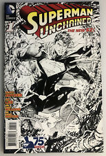 SUPERMAN UNCHAINED #1 SKETCH VARIANT 1:300 THE NEW 52 BY JIM LEE