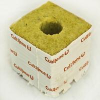 """Cultilene 4"""" x 4"""" Rockwool Blocks Stonewool Starter Cubes SAVE $$ W/ BAY HYDRO $"""