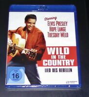 LIED DES REBELLEN WILD IN THE COUNTRY MIT ELVIS PRESLEY BLU RAY NEU & OVP