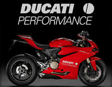 2x Ducati Performance 1199 1098 999 998 916 899 Fairing Decal Sticker Motorcycle