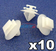 10x Peugeot 106 206 306 307 806 Exterior Door Side Moulding Bumpstrip Trim Clips