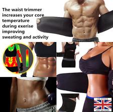 Migliore riduzione dello Stomaco Cintura Sauna Sudore esercizio per uomini donne Dimagrante Wrap UK