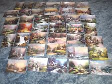 PLEASE READ DESCRIPTION ! Lot of 40 Thomas Kinkade Dealer Postcards Postcard Lot