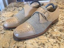 Bruno Magli Made In Italy Bologna Men's Dress Shoes Oxfords Cap Toe Size 9 M