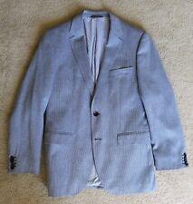 Tailored HUGO BOSS The Keys9 Slim Fit Blazer Sport Coat Jacket Men's Gray 36 EUC