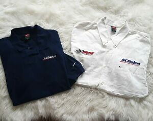 Kevin Harvick AC Delco Richard Childress Racing Team Issued Crew NIKE Shirt Lot