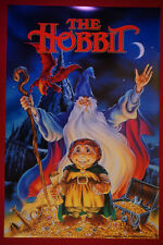 The Hobbit J.R.R Tolkien Classic Original Cartoon Movie Picture Poster 24X36 New
