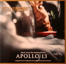 James Horner Apollo 13 O.S.T. MCA Ultimate Masterdisc 24 Kt Gold Disc CD