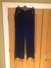Viscose Mid Rise 34L Trousers Size Tall for Women
