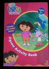 Dora the explorer jigsaw puzzle book