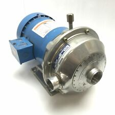G&L Pumps NPE 1ST1C1C5F4F Centrifugal Pump with Emerson R6131800 Motor, 3-Phase