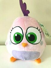 """Large 8"""" Pink Angry Birds Hatchling Plush Toy . Licensed. New. Soft"""