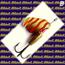 Vintage Spinner Mitchell Cuiller 7gr Single-Blade Gold/Red New
