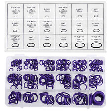 HNBR Car Van Air Conditioning O Ring Rubber Washer Seal Assortment Set  270Pcs