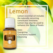 NEW BATCH Young Living LEMON 15ML Essential Oil 100% Therapeutic SEALED