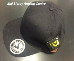 Avid Carp Black Yellow Snapback Baseball Cap