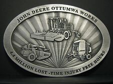 John Deere Ottumwa Works Employee 2004 Safety Record Pewter Medallion Limited Ed