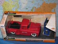 1/24 Jada Sólo Vagones 1955 Chevy Stepside Camión 4X Extra Rueda de Metal Nuevo