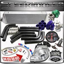 "Universal T3/T4 Turbo Kits 2.5"" DIY  Black Intercooler Piping Kit"