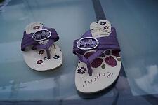 REPLAY Damen Sommer Schuhe Sandalen Zehentrenner Clogs Gr.37 Leder lila TOP #55