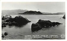 RPPC Frasher foto Pyramid Lake NV Anaho Island World's Largest Pelican Rookery