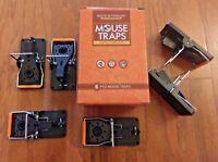 (6-PACK) PREMIUM REUSABLE MOUSE TRAPS / RAT TRAP RODENT SNAP TRAP–MOUSE BUSTERS!
