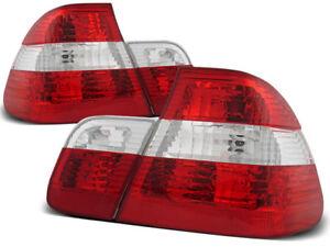 BMW E46 1998 1999 2000 2001 LTBM16 TAIL LIGHTS RED WHITE