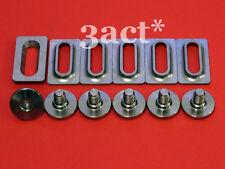 12pcs Titanium / Ti Bolts & Spacers - Shimano SPD SL Pedal Cleat SM-SH10, 11, 12