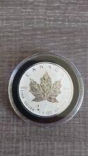 2018 RCM Canada Reverse Proof 1 oz Maple Leaf Silver Coin