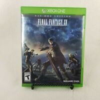 Final Fantasy XV: Day One Edition (Microsoft Xbox One, 2016) Used/Pre-Owned