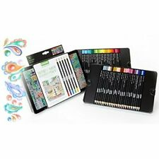 CRAYOLA 68-2005  SIGNATURE 50 CT. BLEND & SHADE COLORED PENCILS IN TIN