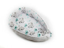 Babynest Baby nest Schlafnest für Babys Baby nestchen kokon Minky.