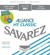 Savarez 540J Alliance Cristal Cantiga HT Classical Guitar Strings High Tension