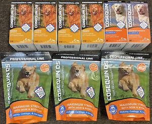 Nutramax Cosequin DS Maximum Strength Supplement 110 tablets & 180 Chews Lot NEW
