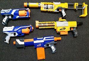 Nerf Guns - 5 Gun Bundle