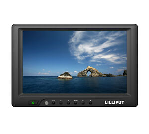 """LILLIPUT 7"""" 669GL-70NP/C/T-HB DVI HDMI VGA 4-wire TOUCH SCREEN W/AUTO SWITCHING"""