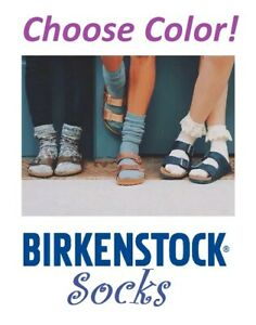 Birkenstock Ladies Socks Size Range 8-11.5 ~CHOOSE COLOR~ New Free Shipping!