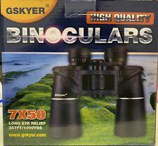 Gskyer Binoculars, 7x50 Long Eye Relief 357FT/YDS FMC Bak4 Prism Binocular