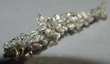 3.37 grams .999 (Ag) Crystalline Silver Crystal  Nugget
