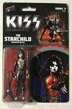Bif Bang Pow! KISS Destroyer The Starchild 3 3/4-Inch Action Figure 🎶🆕