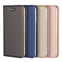 Case For Apple iPhone XS XR 8 6 7 Plus Folio Luxury Cover Flip Leather Wallet UK