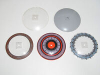 Lego ® Grand Disque 10x10 Round Dish Inverted Choose Color or Pattern ref 50990