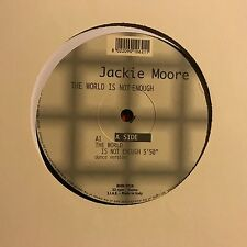 JACKIE MOORE • The World Is Not Enough • Vinile 12 Mix • RMM 9920